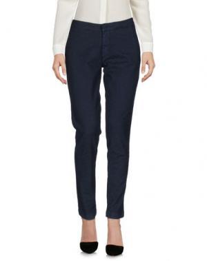 Повседневные брюки TAKUTEA. Цвет: темно-синий