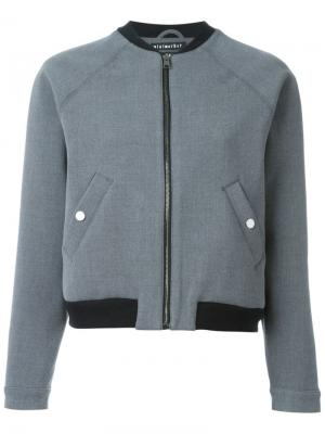 Куртка-бомбер Ultrabonded Minimarket. Цвет: серый