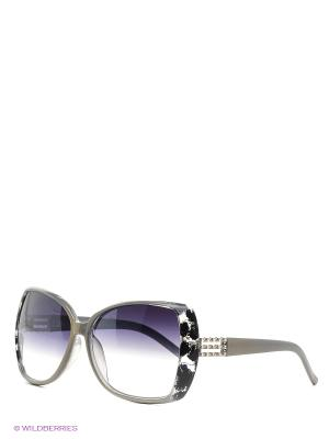 Солнцезащитные очки Vittorio Richi. Цвет: серый
