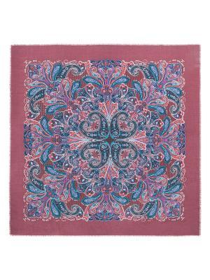 Платок Eleganzza. Цвет: бордовый, голубой, красный