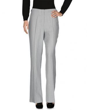 Повседневные брюки KITON. Цвет: светло-серый
