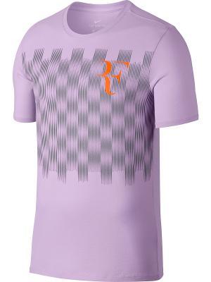 Футболка RF M NKCT TEE Nike. Цвет: фиолетовый