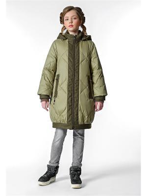 Пальто D`imma 31807/оливковый