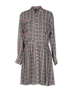 Короткое платье PAUL & JOE. Цвет: серый