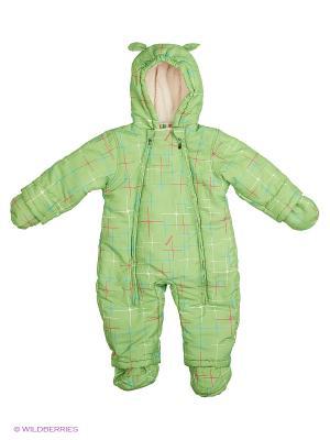 Комбинезон утеплённый Kidly. Цвет: светло-зеленый