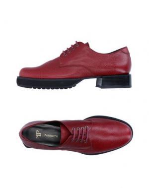 Обувь на шнурках FARRUTX. Цвет: красно-коричневый