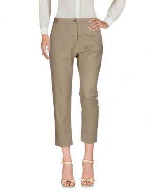 Повседневные брюки NINE:INTHE:MORNING. Цвет: хаки