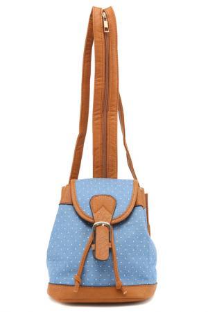 Рюкзак Rekotti. Цвет: коричневый, голубой, белый