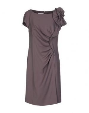 Платье до колена CAILAN'D. Цвет: светло-коричневый