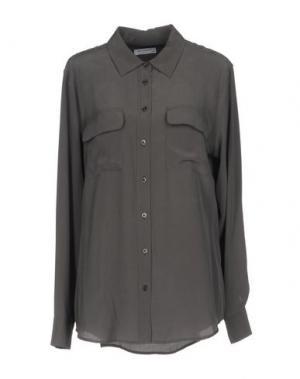 Pубашка EQUIPMENT FEMME. Цвет: свинцово-серый
