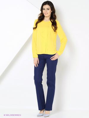 Блузка КАЛIНКА. Цвет: желтый