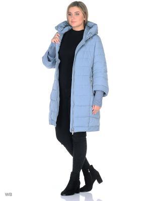 Пальто Romantic Collection.. Цвет: серо-голубой