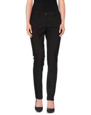 Повседневные брюки L'AIR DE RIEN. Цвет: темно-коричневый