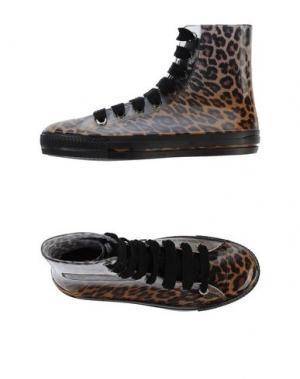 Высокие кеды и кроссовки FEITH. Цвет: коричневый