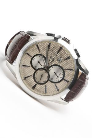 Наручные часы Essence. Цвет: стальной, коричневый