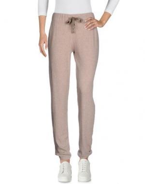 Повседневные брюки JUVIA. Цвет: бежевый