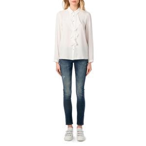 Рубашка однотонная с воротником-поло и длинными рукавами BEST MOUNTAIN. Цвет: экрю