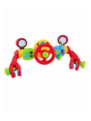 Активная игрушка на коляску Руль управления для малыша ELC. Цвет: красный