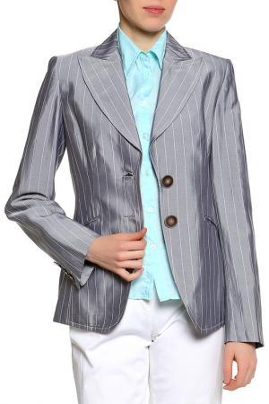 Пиджак Riani. Цвет: серый в белую полоску