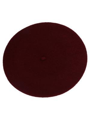 Берет FORTI. Цвет: темно-бордовый