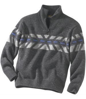 Пуловер Park City AFM. Цвет: антрацитовыи