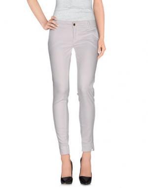 Повседневные брюки MET & FRIENDS. Цвет: белый