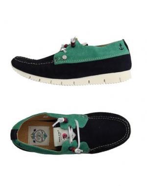 Обувь на шнурках DOLFIE. Цвет: темно-синий