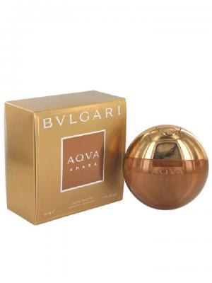 Aqua Amara edt 50 ml BVLGARI. Цвет: бронзовый