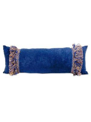 Подушка Лазурит РЮШАЛЬ. Цвет: синий