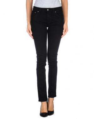 Джинсовые брюки NUDIE JEANS CO. Цвет: черный