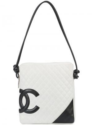 Сумка Cambon Chanel Vintage. Цвет: белый