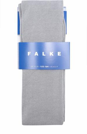 Трикотажные колготки с узором Falke. Цвет: голубой