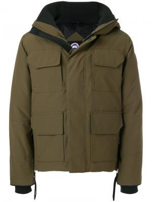 Куртка Maitland Canada Goose. Цвет: зелёный