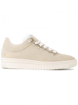 Lace-up sneakers Nubikk. Цвет: телесный