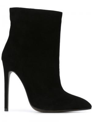 Ботинки на высокой шпильке Gianni Renzi. Цвет: чёрный
