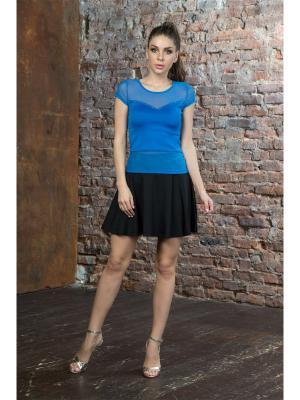 Блузка MONDIGO. Цвет: синий