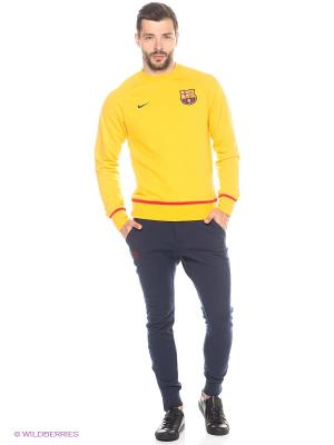 Джемпер Nike. Цвет: желтый