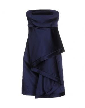 Короткое платье ADELE FADO QUEEN. Цвет: темно-синий