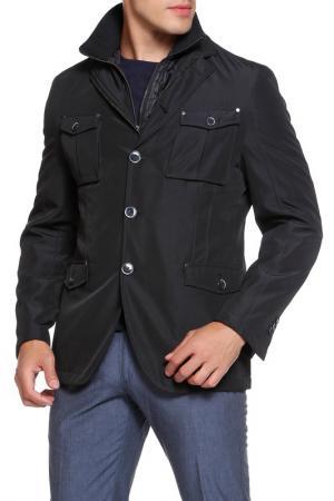 Куртка Smalto. Цвет: черный