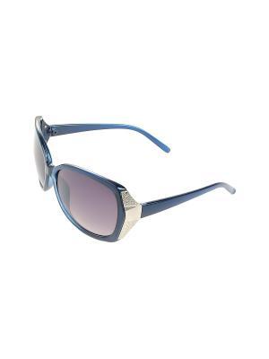 Солнцезащитные очки Gusachi. Цвет: синий, черный