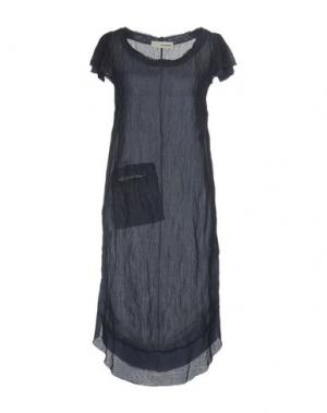 Платье до колена UN-NAMABLE. Цвет: темно-синий