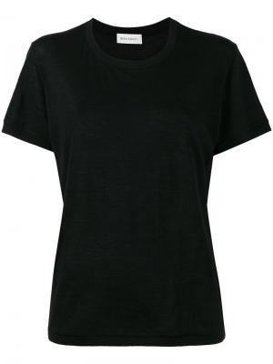 Cashmere crew neck t-shirt Beau Souci. Цвет: чёрный