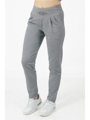 Спортивные брюки CROSS sport. Цвет: темно-серый