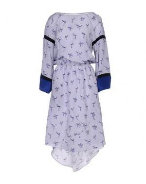 Платье до колена PINKO UNIQUENESS. Цвет: сиреневый