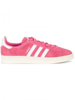 Кеды Campus Adidas. Цвет: розовый и фиолетовый