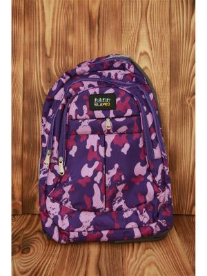 Рюкзак спортивный SilaPro. Цвет: фиолетовый