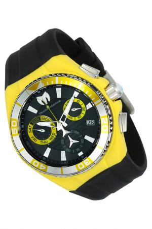 Watch TechnoMarine. Цвет: silver, black, yellow
