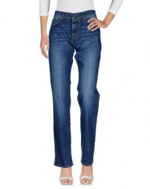 Джинсовые брюки DIRK BIKKEMBERGS. Цвет: синий