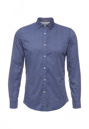 Рубашка Tony Backer. Цвет: синий