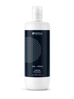 Крем-проявитель 12% - 40 Vol INDOLA EXСLUSIVELY PROFESSIONAL. Цвет: темно-синий, серебристый